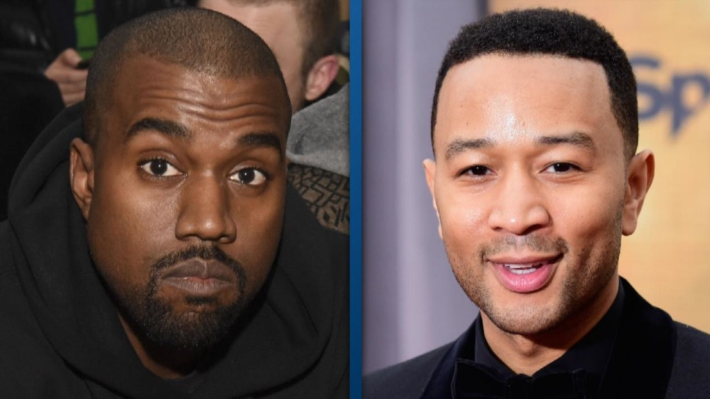 Kanye West's tweets seem to get him in trouble with pal John Legend