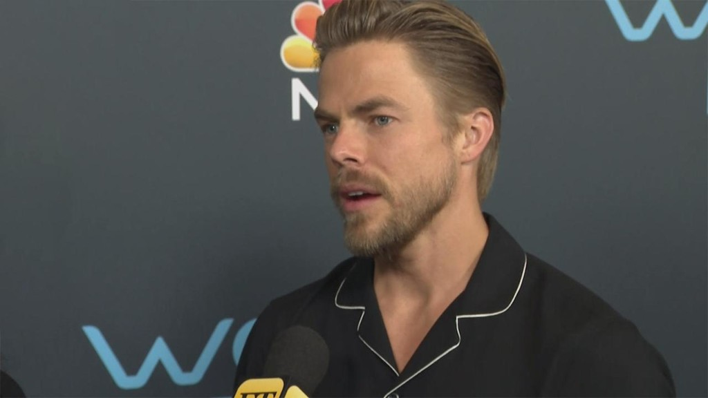 Derek Hough reveals who he's rooting for on 'DWTS:Athletes'