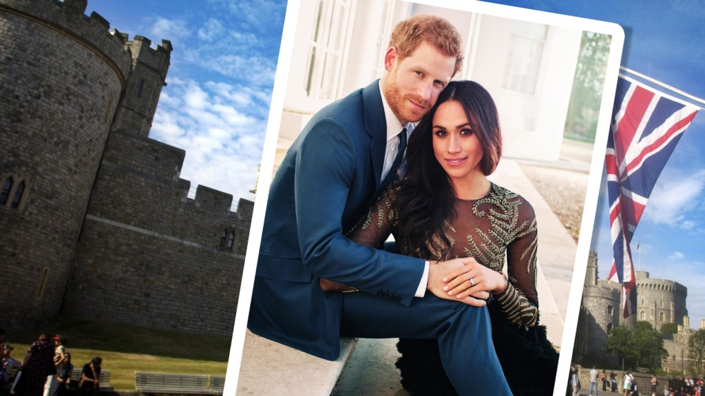 Tour Windsor, Prince Harry and Meghan Markle's wedding location