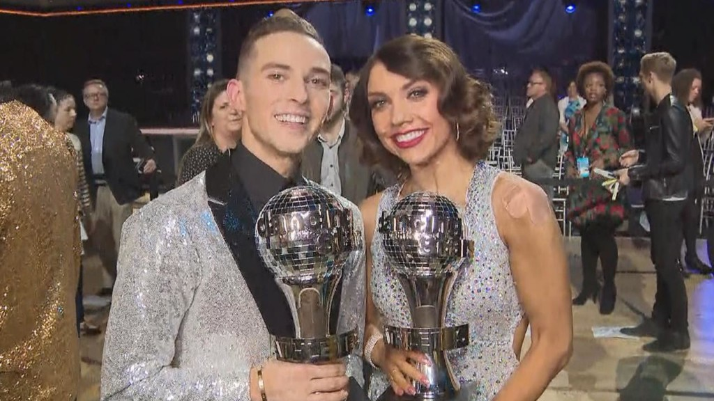 Adam Rippon gushes over winning 'DWTS:Athletes'