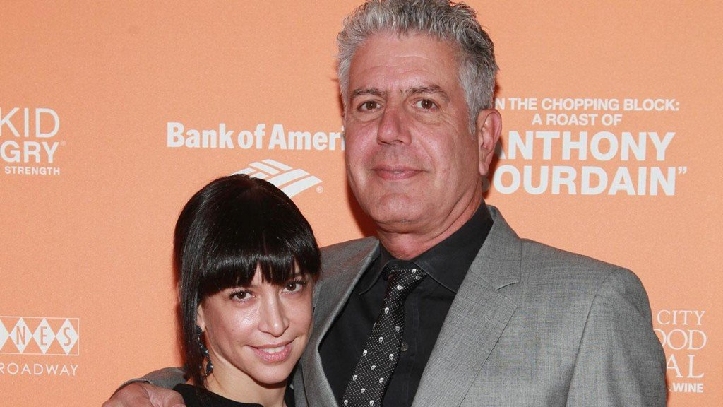 Anthony Bourdain's ex-wife shares photo of 'brave' daughter