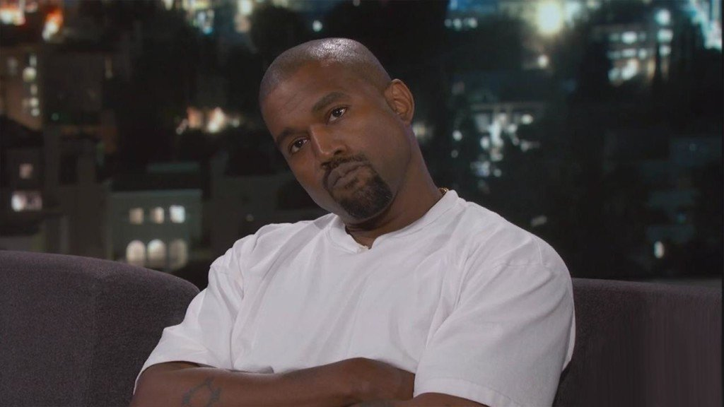 Kanye West speechless after Jimmy Kimmel questions his support of Donald Trump
