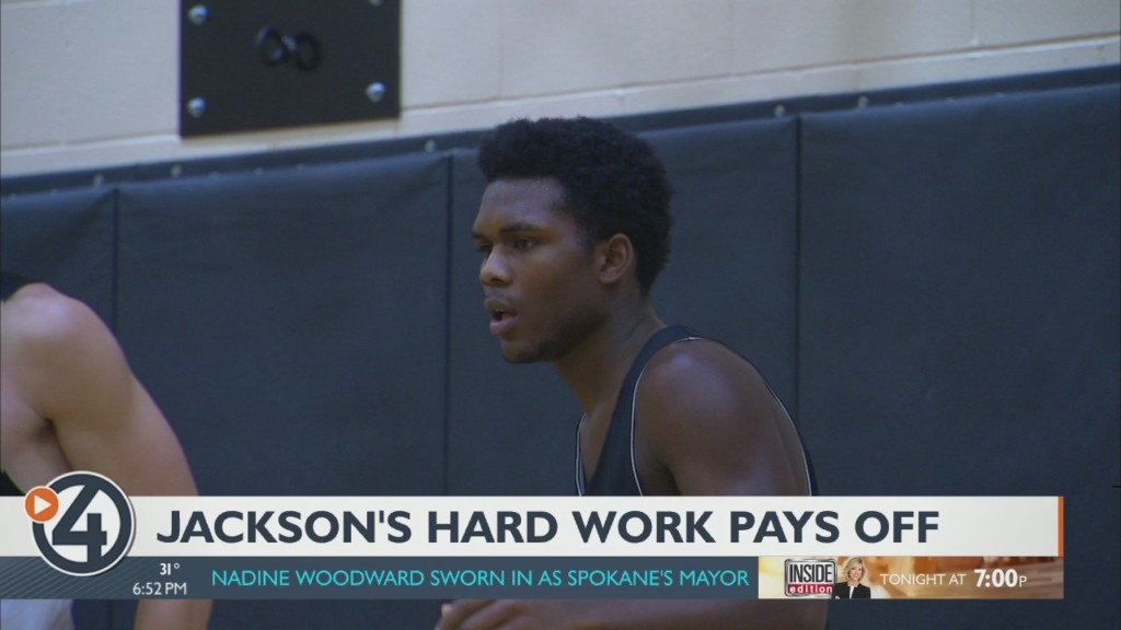 Jackson's hard work pays off for L.C.