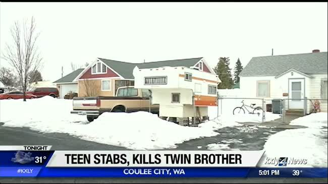 17-year-old accused of stabbing, killing twin brother