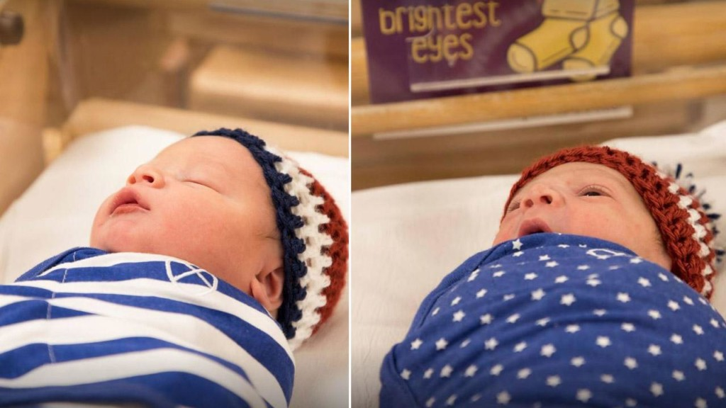 Babies compete in maternity ward Olympics