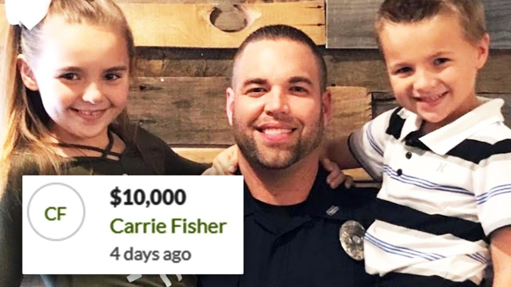 Carrie Underwood donates $10,000 to officer injured in crash