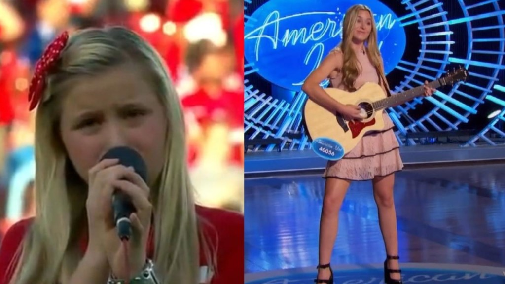 Teen gets a chance at redemption on American Idol after awful National Anthem