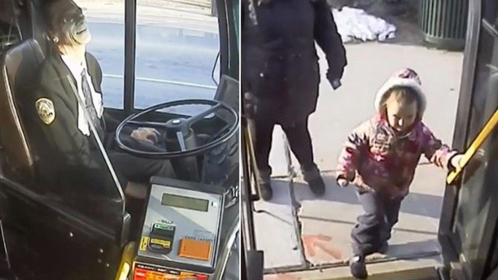 Bus driver gives 4-year-old bestie a sweet gift on last day