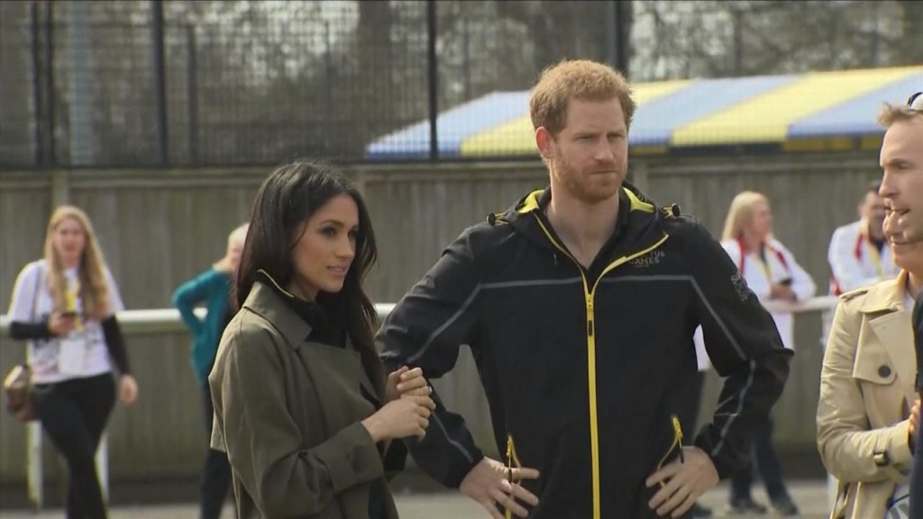 Meghan Markle and Prince Harry meet wounded warriors at Invictus Games