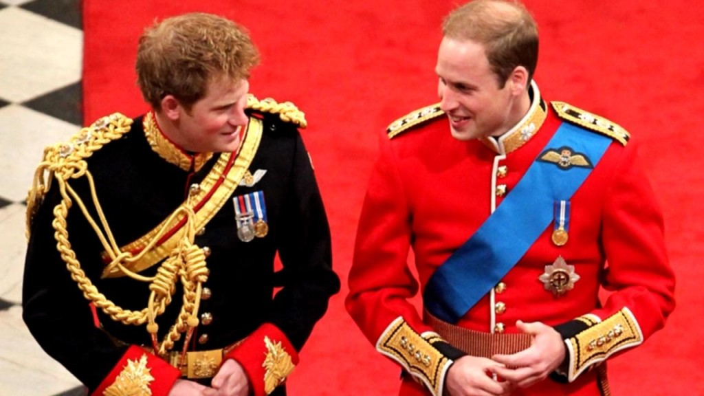 Prince William to be Harry's best man at Royal wedding