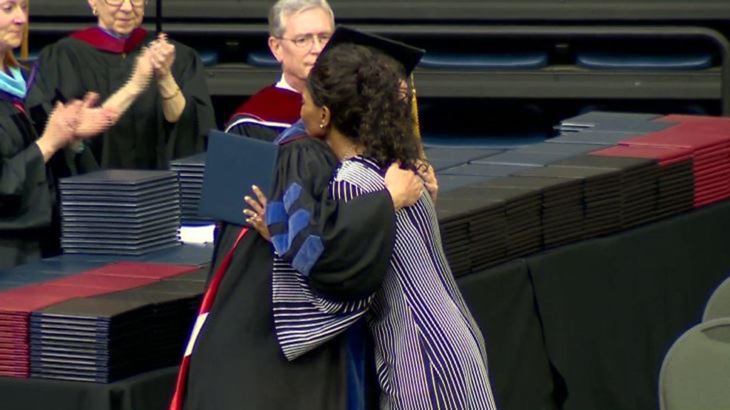 Mom receives diploma for daughter killed in Waffle House shooting
