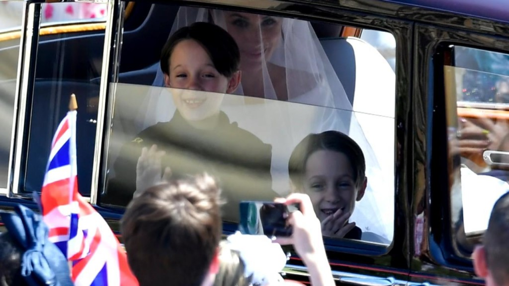Dad of 7-year-old page boys spills Royal Wedding secrets