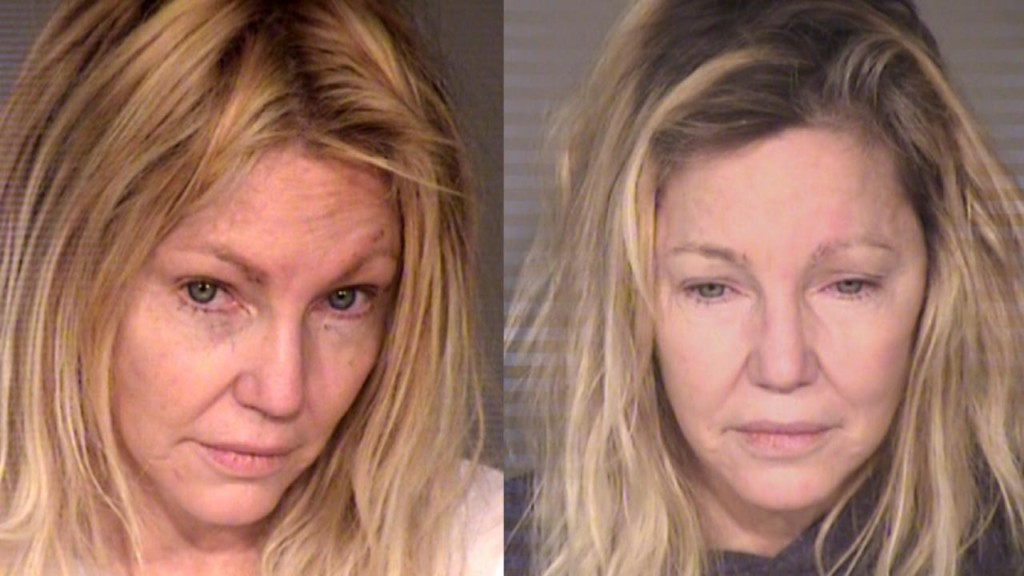 Heather Locklear hospitalized hours after release from jail