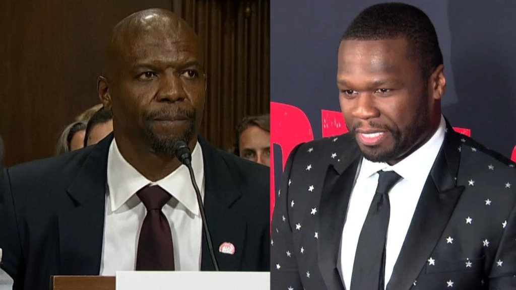 50 Cent mocks Terry Crews for admitting he was groped by agent