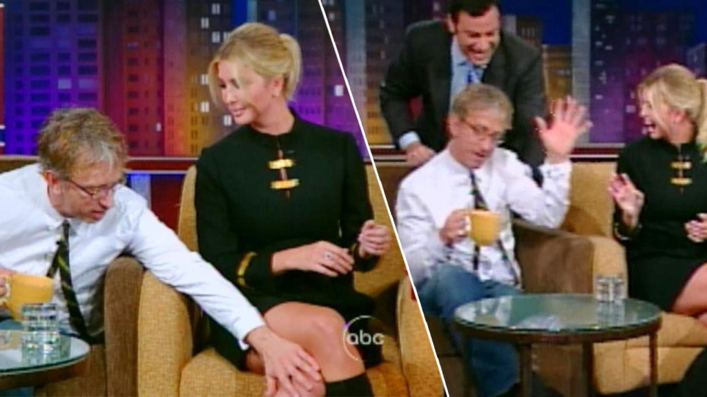 Ivanka Trumps appears to be groped on 2007 episode of 'Jimmy Kimmel Live'