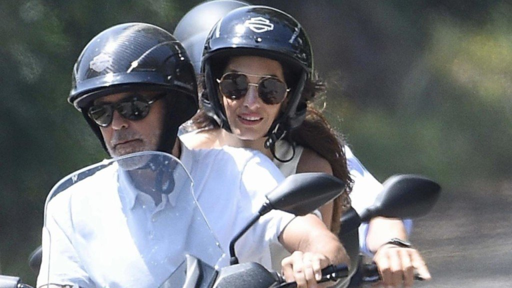 George Clooney recovering following scooter crash in Italy