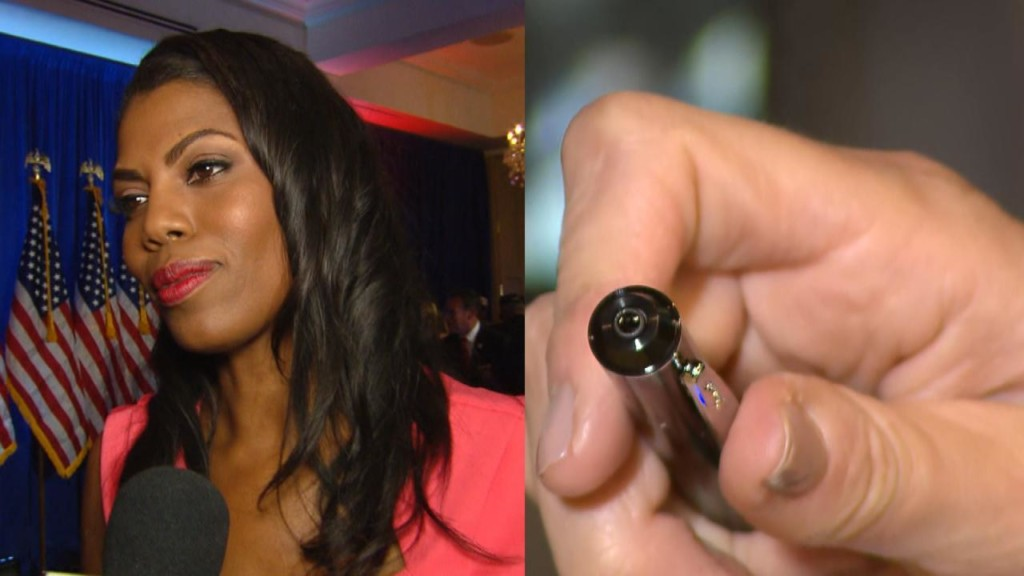 Did Omarosa use a 'spy pen' to record White House conversations?