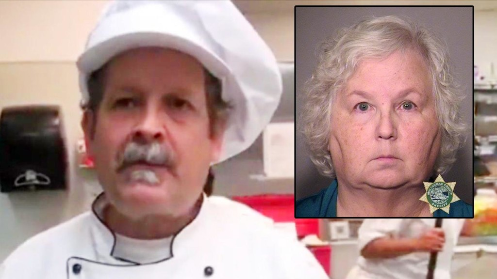 Romance novelist accused of killing chef husband in Oregon
