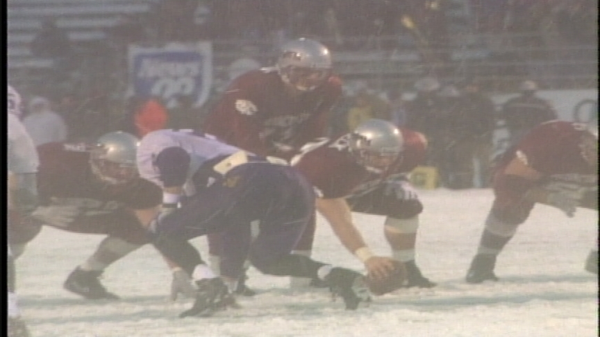 Apple Cup moments:  The snow bowl