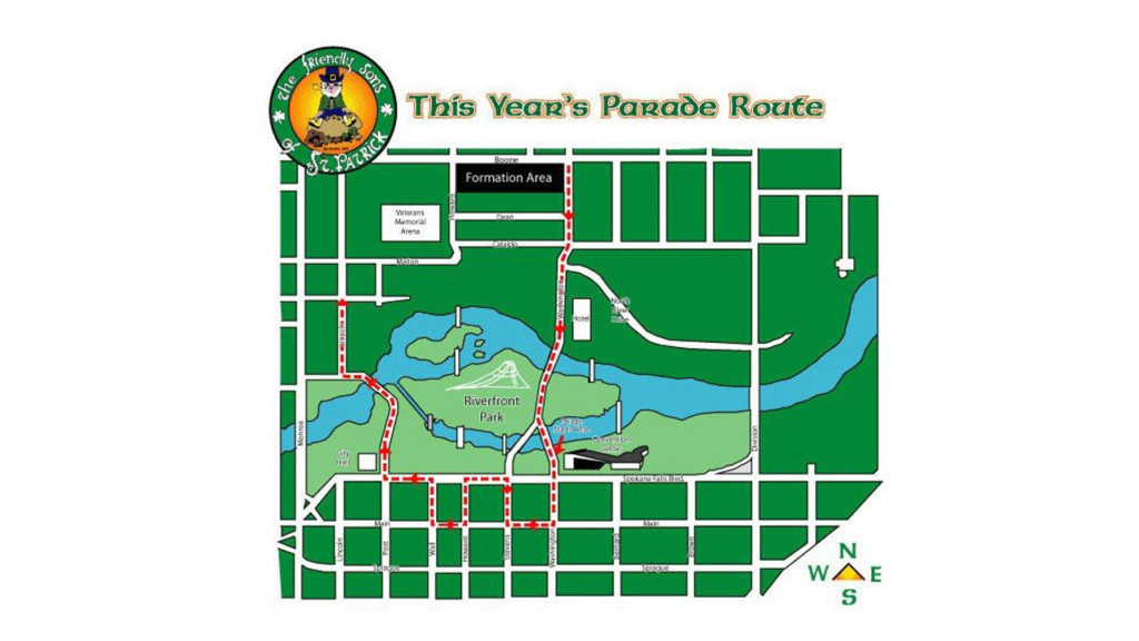Route released for 2019 St. Patrick's Day Parade