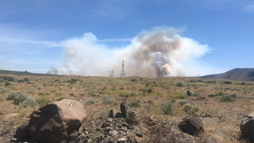 "Grant County fire contained, in ""mop up"" stage"