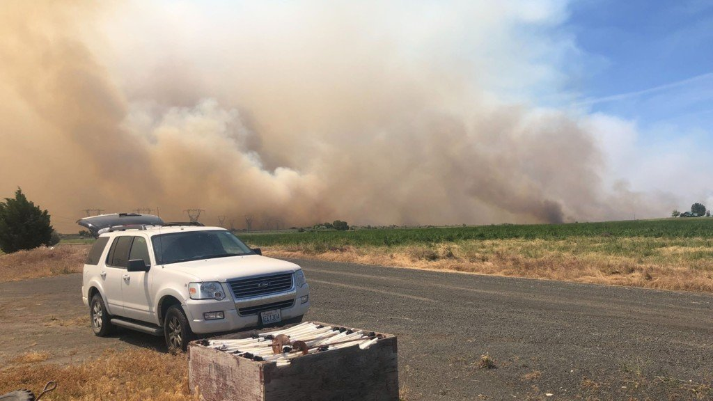 Central Washington wildfire mostly contained, all evacuations lifted