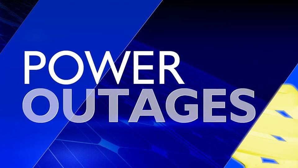 Power outages across Eastern Washington