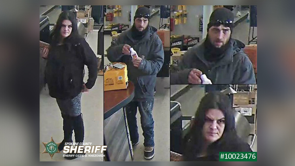 Detectives searching for two people suspected of using stolen checks and credit cards