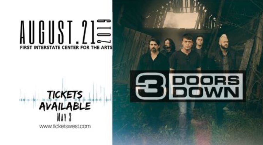 Rock band 3 Doors Down coming to Spokane's First Interstate Center