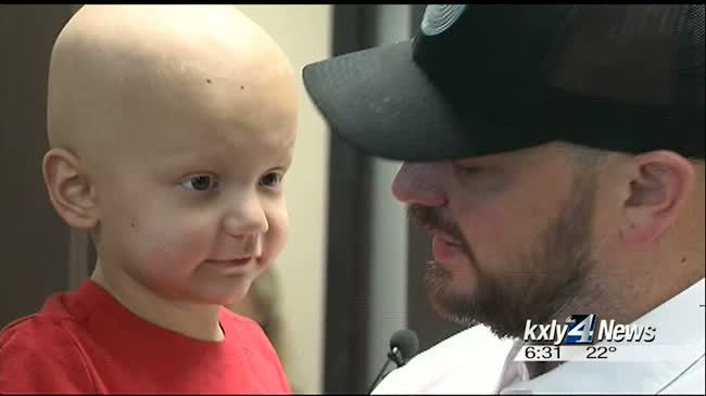 3-year-old cancer patient becomes honorary deputy