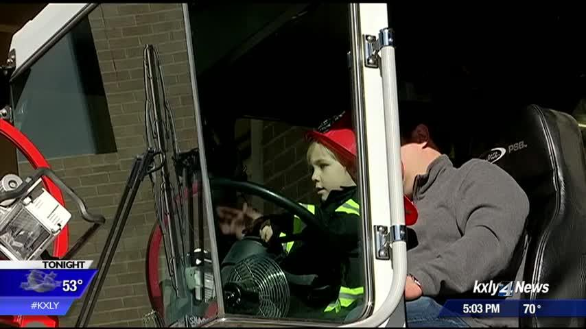 3-year-old's penny fund nets $11 for Spokane firefighters