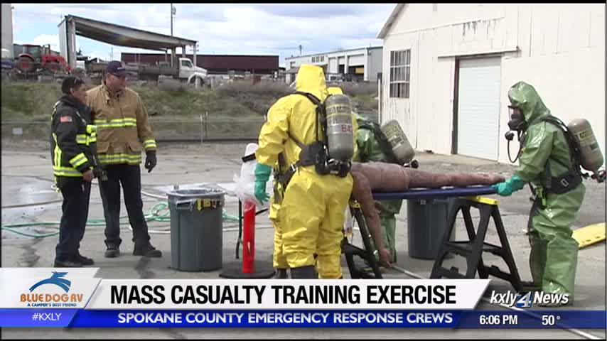 Spokane County emergency crews train for mass casualty situations