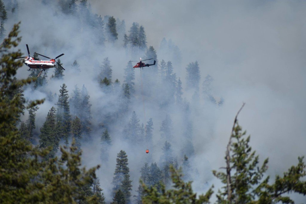 Wildfire burning near former vermiculite mine in Northwest Montana