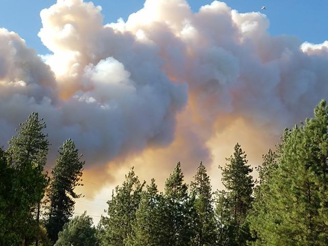 Boyds Fire burns 3000 acres near Kettle Falls, prompts evacuations