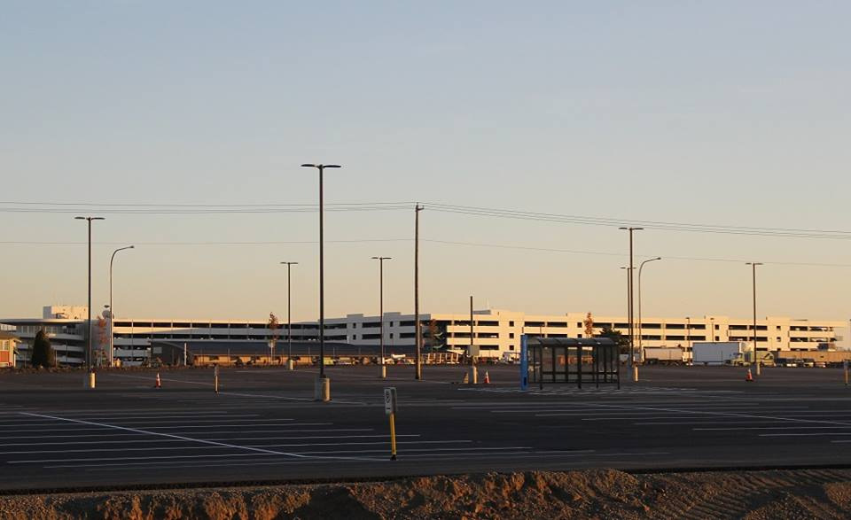 Expanded economy parking lot at airport opens soon