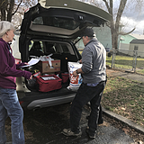 Spokane seniors receive Thanksgiving meals and cheer