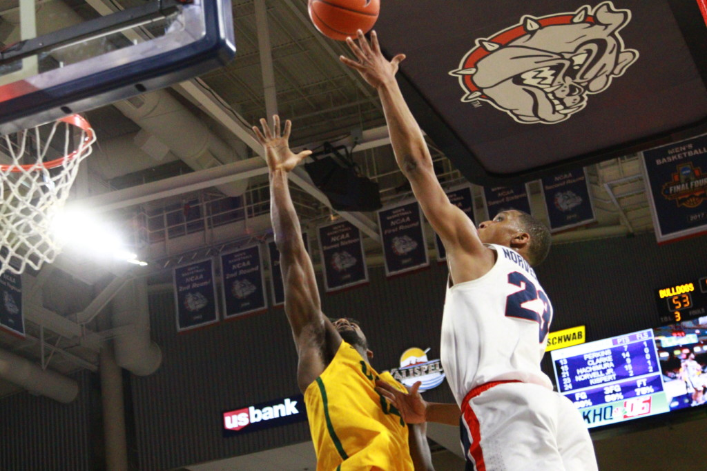 Report: Gonzaga's Zach Norvell Jr. signs two-way contract with Lakers