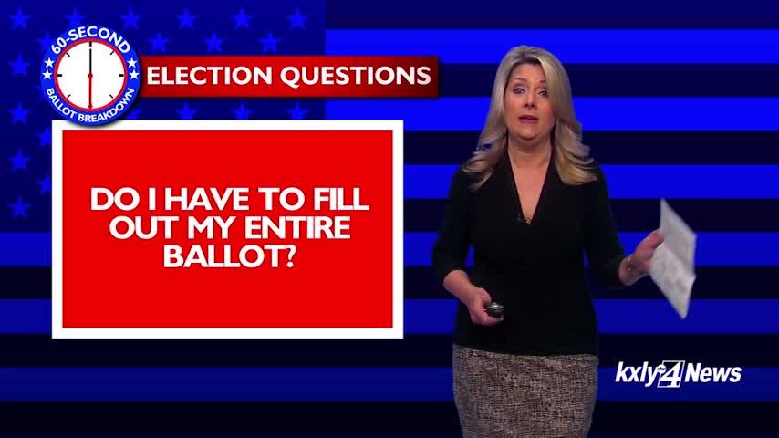 60-Second Ballot Breakdown: Election Questions