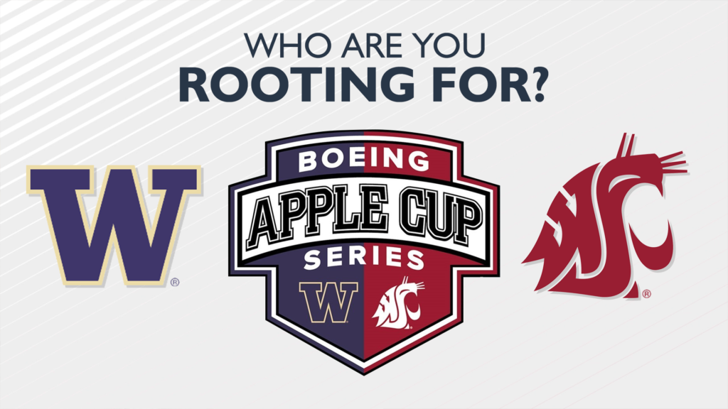 Staying in Eastern Washington? Here's where you can watch the Apple Cup