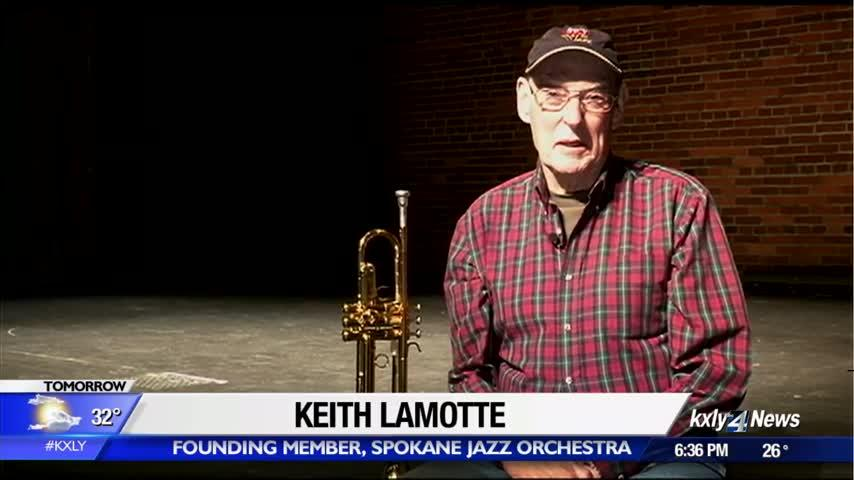 80-year-old founding member of Spokane Jazz Orchestra prepares for final performance