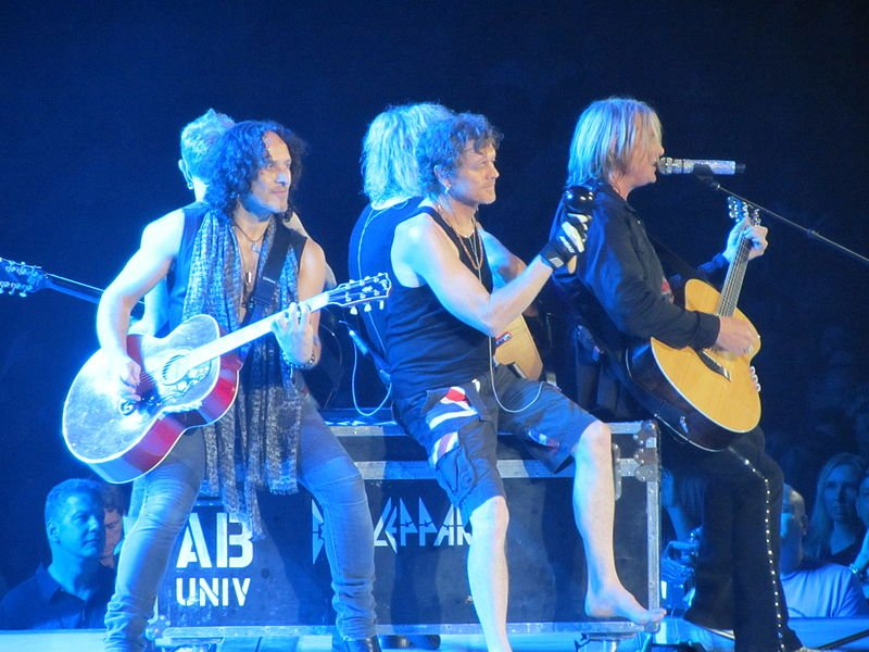 Def Leppard is returning to the Spokane Arena