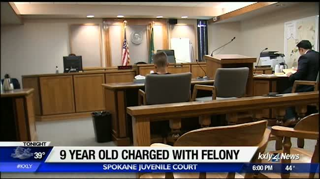 9-year-old boy charged with assault with a deadly weapon
