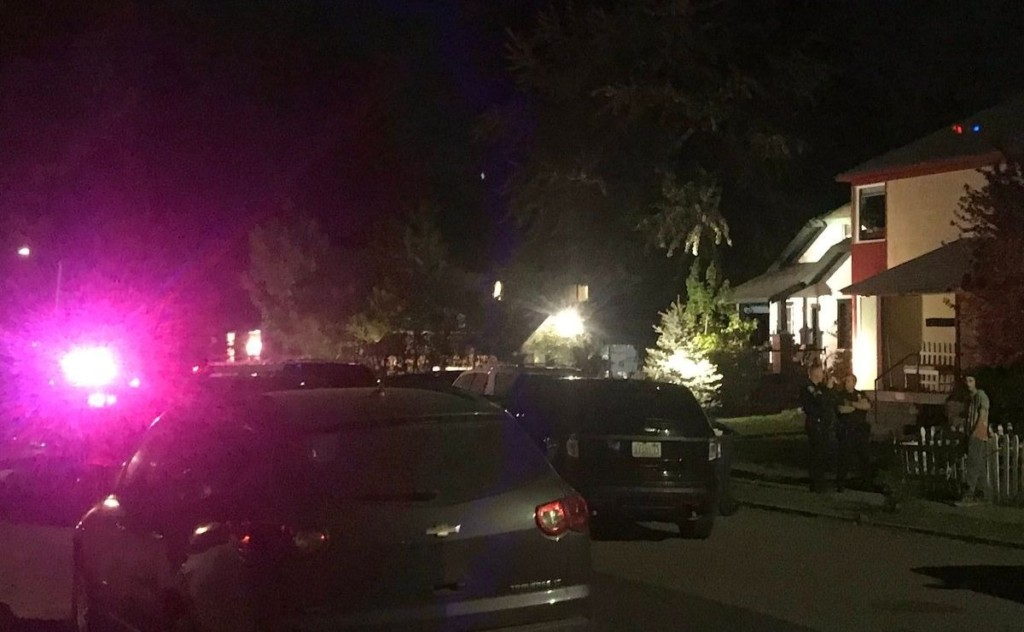 Assault suspect arrested after standoff in Perry District