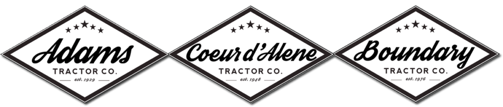 Sponsored by Adams Tractor, Coeur d'Alene Tractor, and Boundary Tractor