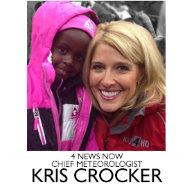 News 4 Now Chief Meteorologist Kris Crocker