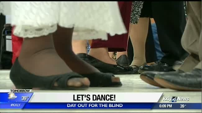 A chance to dance, for the visually impaired