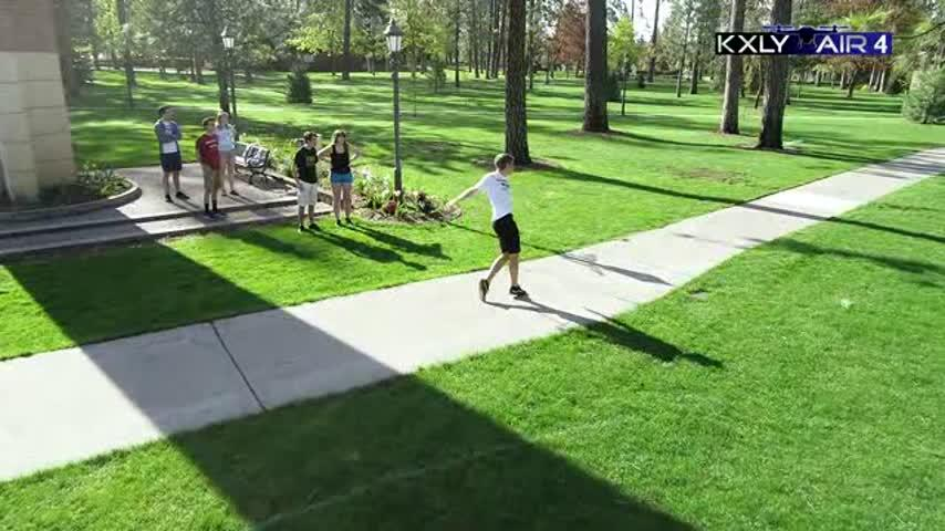 Air 4 Adventure: Whitworth frisbee golf
