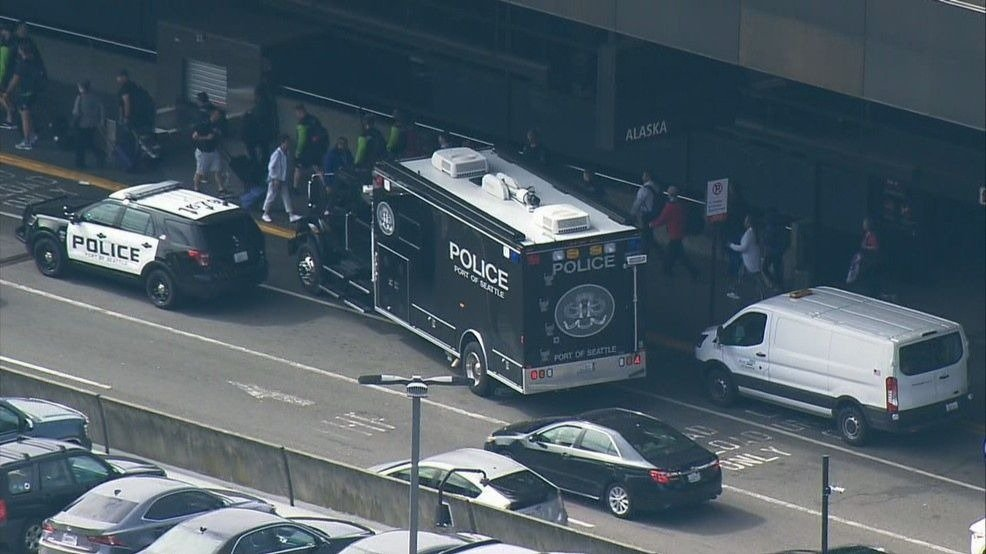 Police investigating suspicious device at Sea-Tac Airport ticketing area