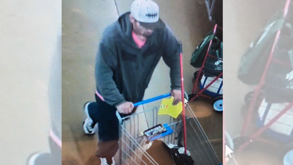 Airway Heights police seek man who allegedly made purchases with stolen credit card