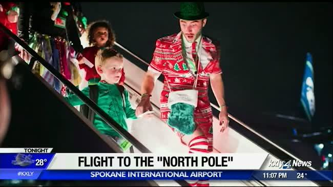 Alaska Airlines gives local kids an adventure to the 'North Pole'
